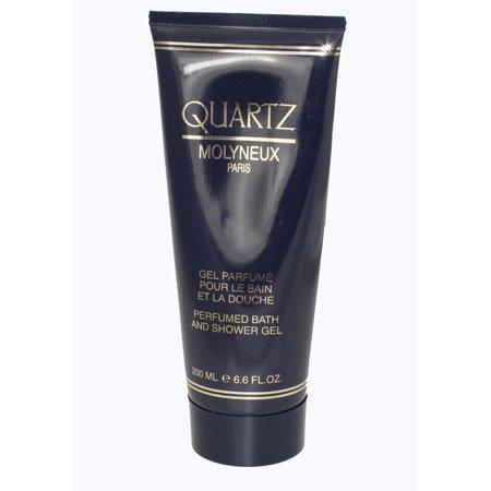 200 Ml Perfumed Bath (Quartz Perfumed Bath & Shower Gel 6.6 Oz / 200 Ml for Women )
