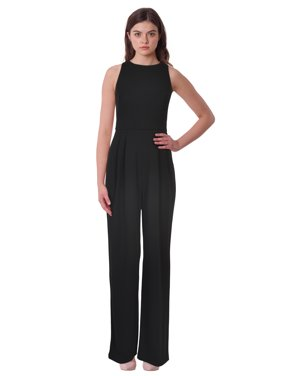 5901c0606dbc7 Product Image Lauren Ralph Lauren Jersey Wide Leg Scoop Neck Jumpsuit
