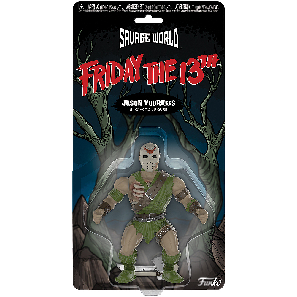 Funko 30439 Savage World Friday the 13th Jason Multi
