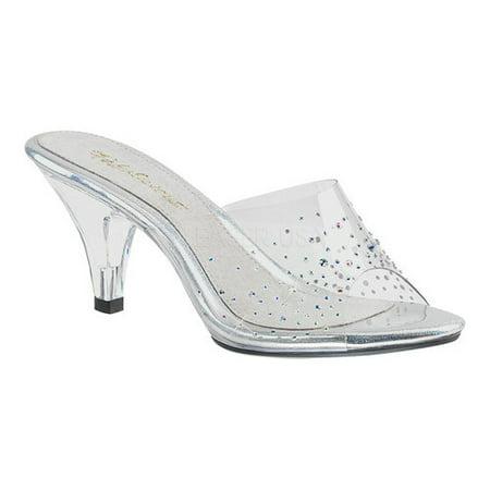 Fabulicious Slide Damens's Fabulicious Belle 301SD Slide Fabulicious Walmart  2b696d