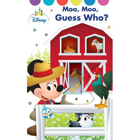 Disney Baby Moo Moo, Guess Who! (Board Book) (Baby Guess)