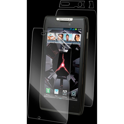 Zagg invisibleSHIELD Full Body Protective Film for Motorola Droid RAZR