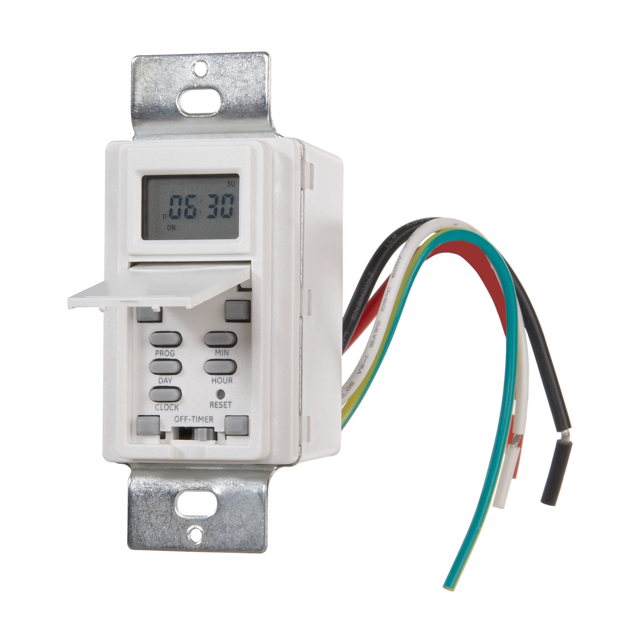 Westek TMDW30 Hardwire Indoor Digital Wall Switch Timer, White by Amertac