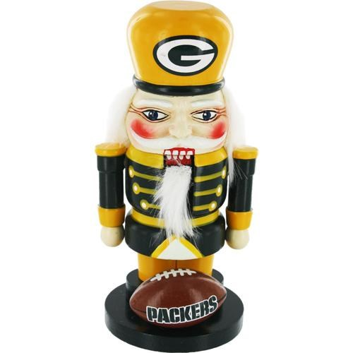 Green Bay Packers 7 Elite Wooden Nutcracker Figurine""