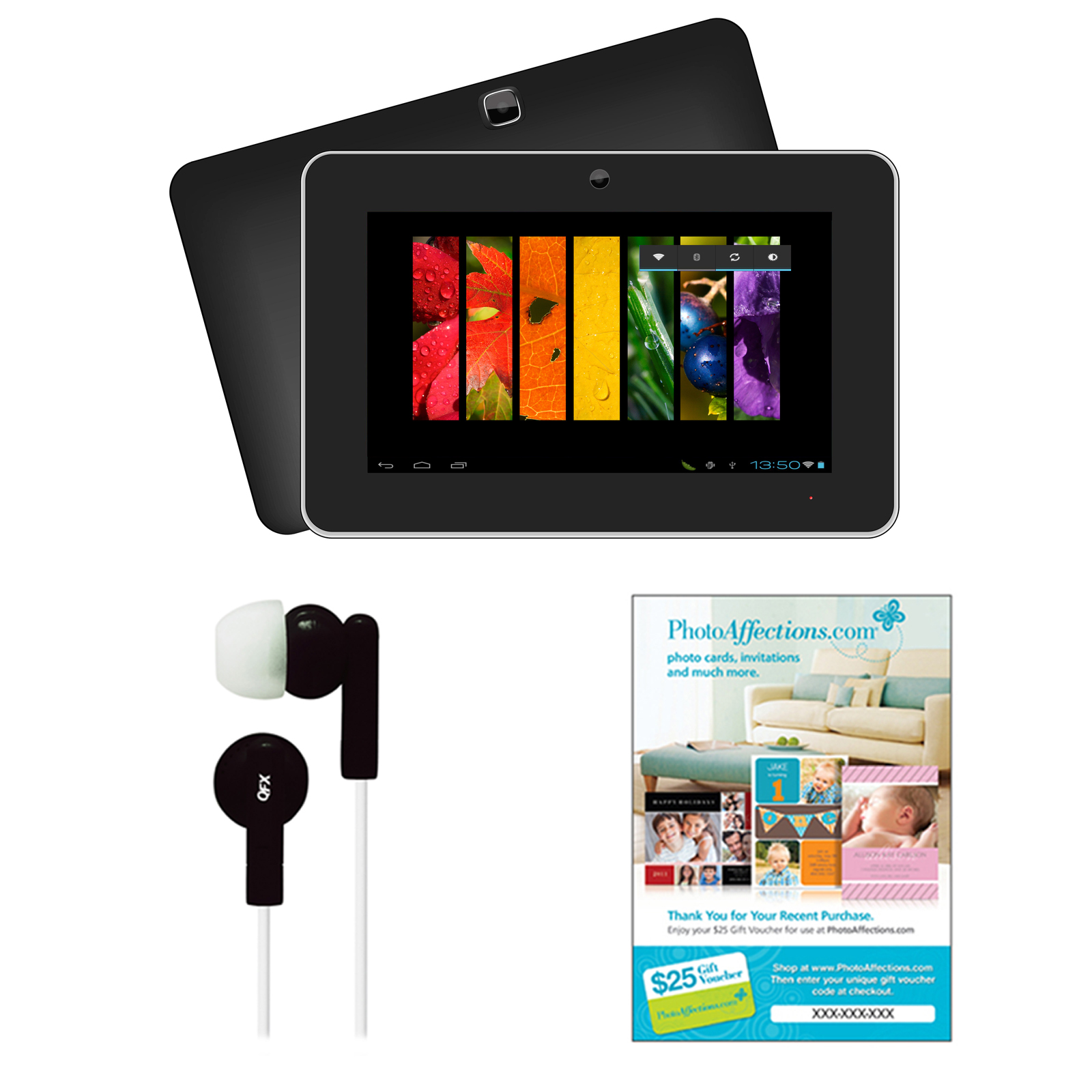 Supersonic 9 Android 4.1 Touch Screen Tablet with Earbuds...