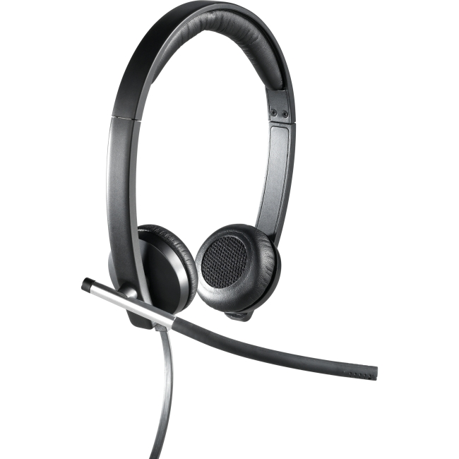 Logitech H650e USB Double-Ear Corded Headset