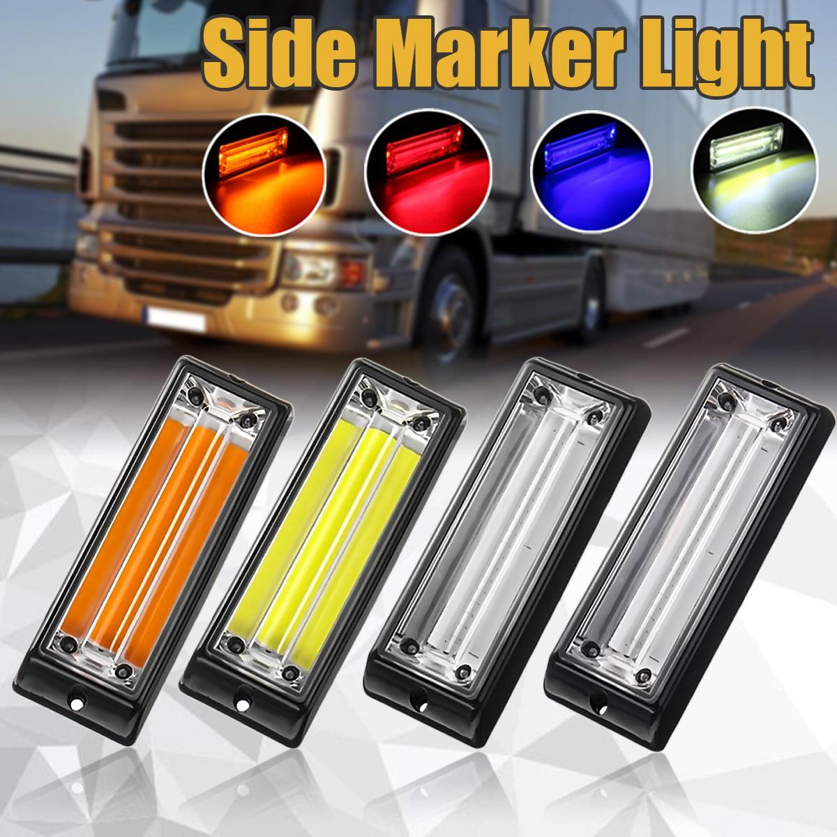 12-24V Car Marker Side Lights Indicator Reversing Lamp Trucks Van Trailers Cars Boats Lamp Caution Strobe Lights