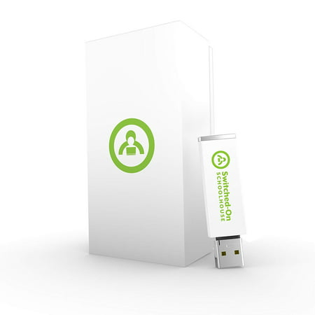 Switched on Schoolhouse, 4th Grade, Grade 4 Language Arts Curriculum by AOP (Alpha Omega HomeSchooling), SOS USB Drive