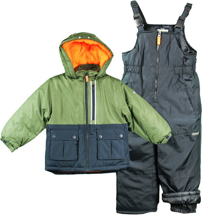 0bcda433efc2 Oshkosh B gosh - OshKosh Toddler Boys Heavy Snow Suit Winter Jacket ...