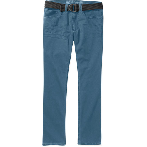Op Men's Belted 5 Pocket Twill Pant
