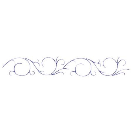 Swirl Design Wall Stencil SKU #2943 by Designer Stencils ()