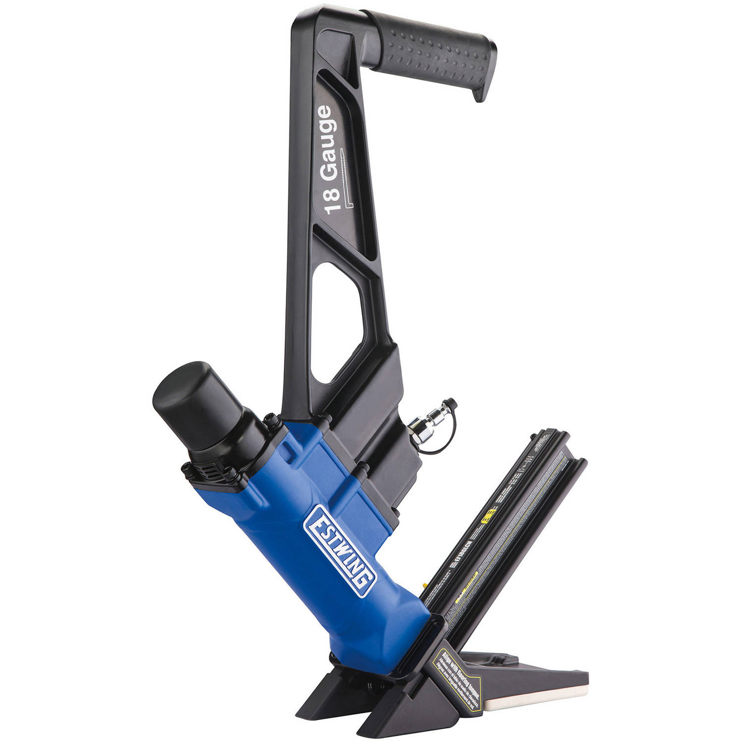 Estwing EF18GLCN Pneumatic 18-Gauge L-Cleat Flooring Nailer with Bag by Prime Global Products