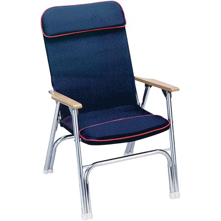 Seachoice Canvas Folding Chair Blue Walmart Com