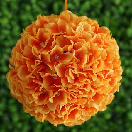 (BalsaCircle 4 pcs 7-Inch Hydrangea Kissing Flower Balls - Artificial Flowers Wedding Party Centerpieces Arrangements Bouquets)