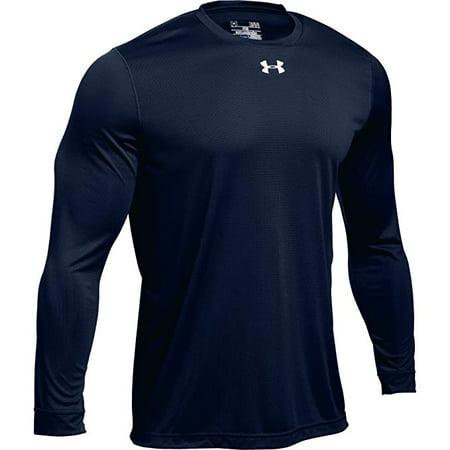 Under Armour Men's UA Locker 2.0 Long Sleeve Shirt (Small, Midnight Navy)