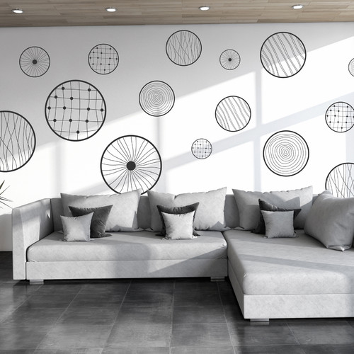 WallPops! Home Decor Line Fantasy Circles Wall Decal