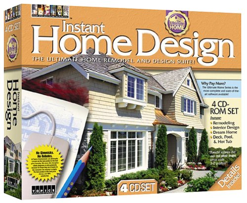 Topics Entertainment Instant Home Design (4 CD-ROM)