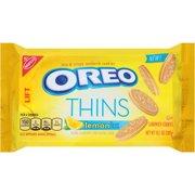 Nabisco Oreo Thins Lemon Creme Sandwich Cookies, 10.1 oz