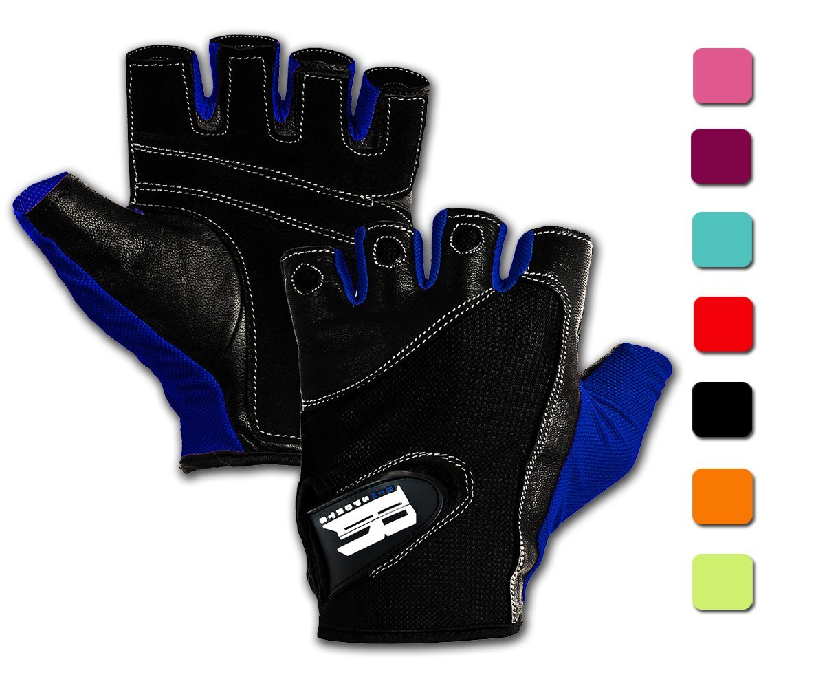 Exercise & Fitness Non-Slip Half Finger Cycling Gloves Party At My Crib Bed Exercise Gloves For GYM Weight Lifting Training Fitness Biking