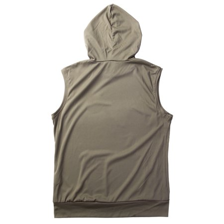 One Opening Mens Muscle Hoodie Tank Top Gym Workout Sleeveless Vest T-shirt