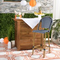 Safavieh Ford Outdoor Stacking French Bistro Bar Stool