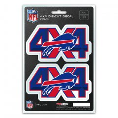Buffalo Bills 4x4 Decal Pack