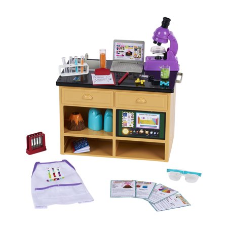 "My Life As 38-Piece Science Lab Play Set for 18"" Dolls"