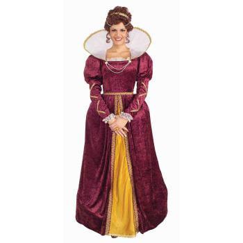 COSTUME-QUEEN ELIZABETH - Ice Queen Costume For Adults