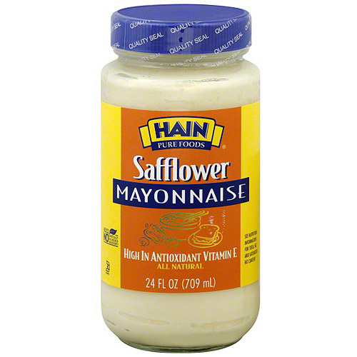 Hain Pure Foods Safflower Mayonnaise, 24 oz (Pack of 6)