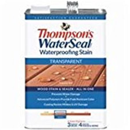Thompsons Sherwin Williams 41831 1 gal Transparent Stain, Sequoia Red
