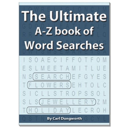 The Ultimate A-Z Book of Word Searches - - A-z Halloween Words