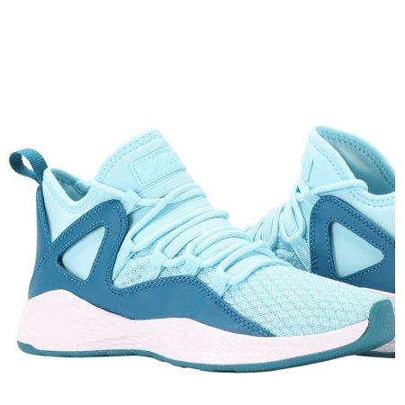 Nike Jordan Girl - Nike Air Jordan Formula 23 GG Still Blue/White Big Girls Shoes 881470-405