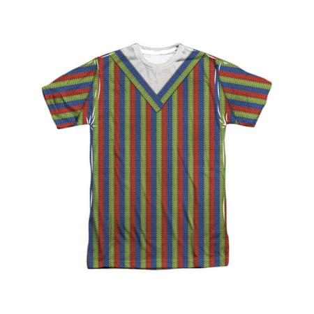 Sesame Street Classic Children's TV Show Bert Costume Adult Front Print T-Shirt - Sesame Street Bert