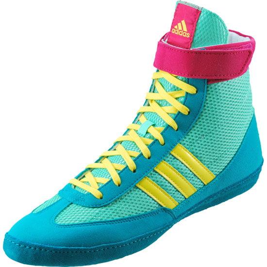 ... royal blue eba4f ab695  spain new adidas g96429 combat speed.4 wrestling  mens 7.5 em ylw pnk wrestling 5b157 b6ff51e8e
