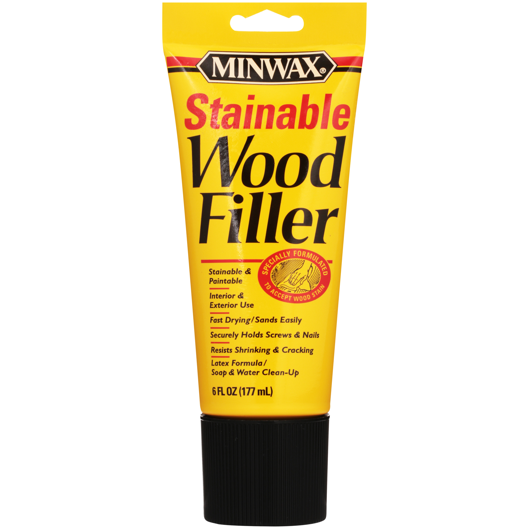 Minwax Stainable Wood Filler 6-Oz