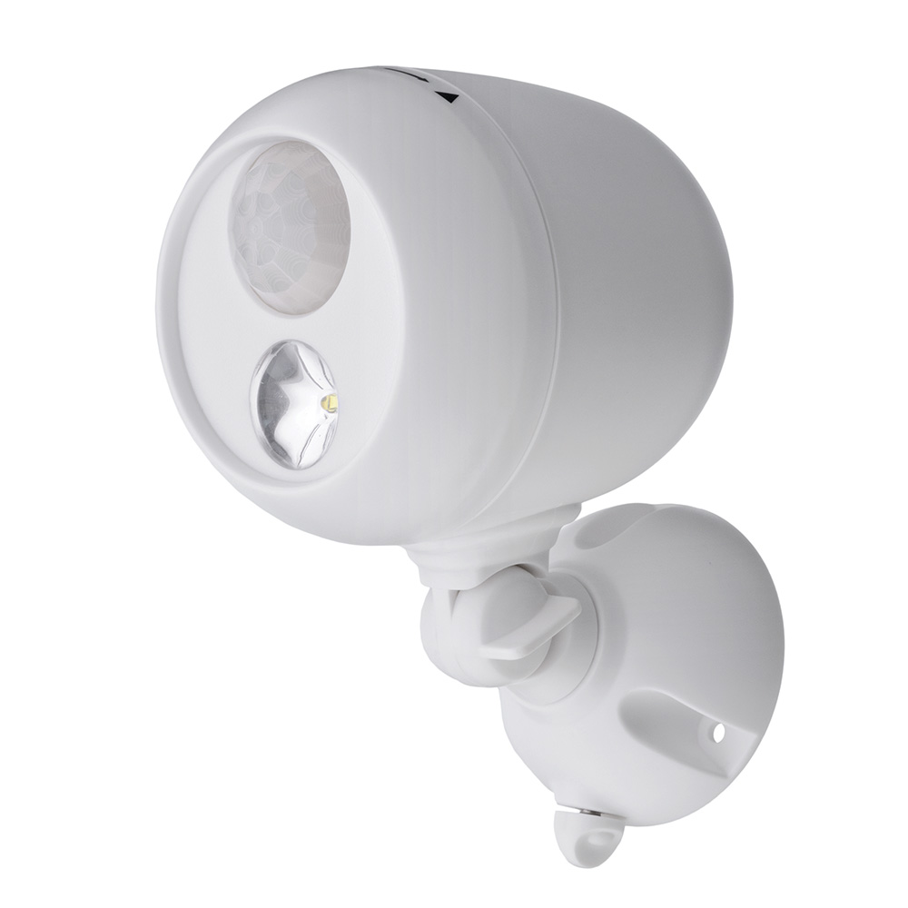 Mr. Beams Wireless Motion Sensing LED Spotlight, White by Mr. Beams