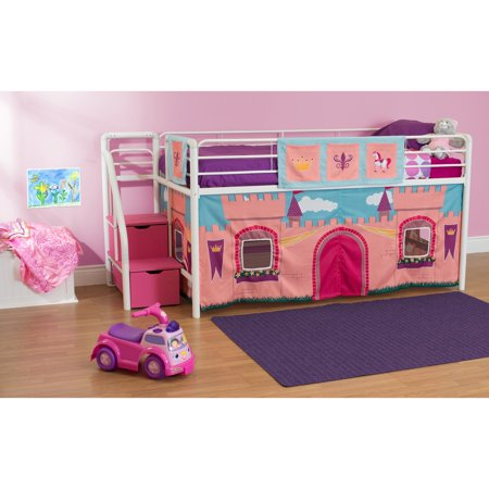 Dorel Home Products Curtain Set for Junior Loft Bed, Princess