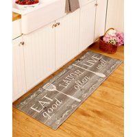 "55"" Themed Kitchen Runners-Eat Laugh Live"