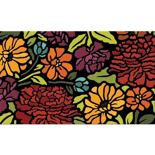 "Better Homes and Gardens 18"" x 30"" Serene Floral Spring Door Mat"