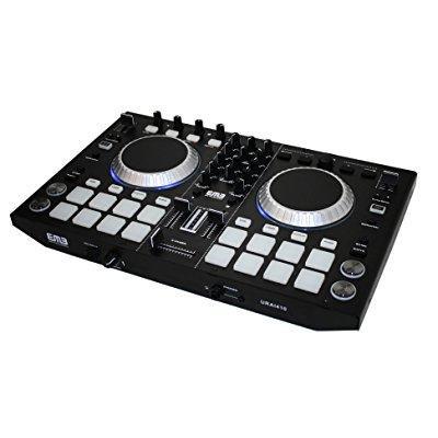 emb urai410 professional controller 2 channels ready dj mixer