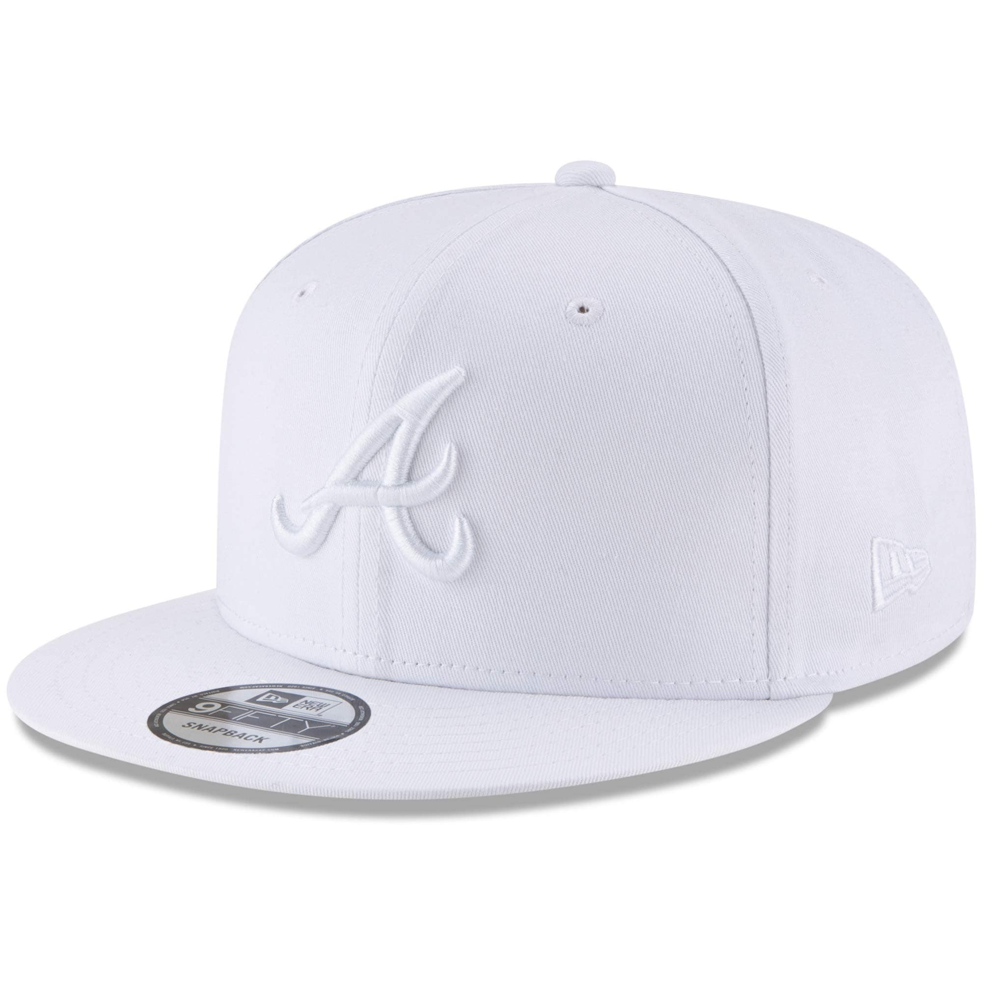 ROYAL // WHITE ATLANTA BRAVES LEAGUE BASIC NEW ERA 9FIFTY SNAPBACK