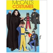 McCall's Children's and Boys' Hero Costumes, CCE (3, 4, 5, 6)