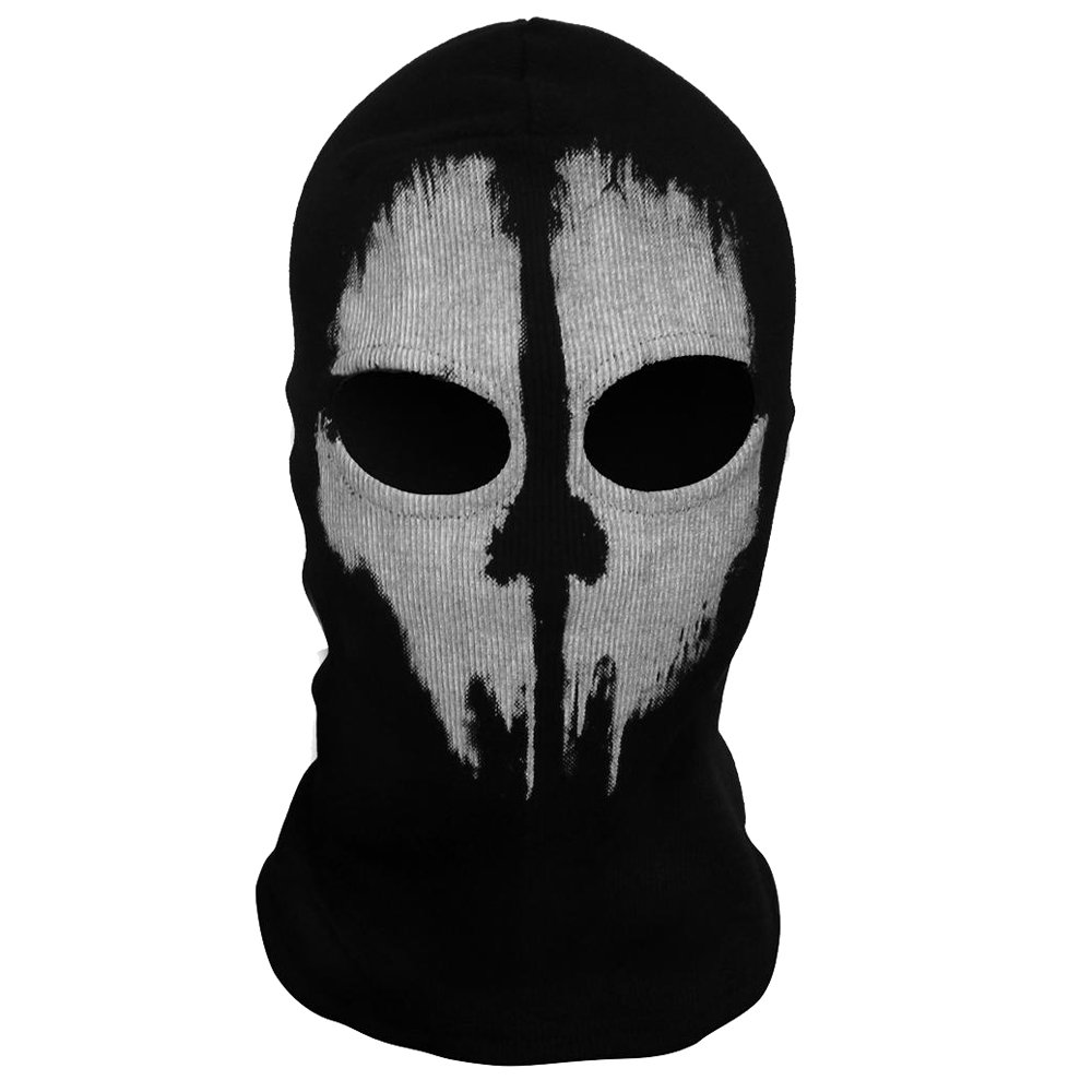 Outgeek Ghost Skull Balaclavas Ski Mask Full Face Airsoft Paintball Cosplay Mask for Men by outgeek