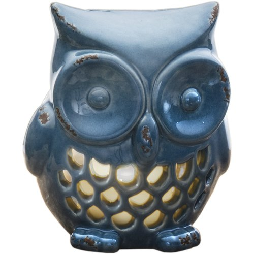 Prinz Owl Ceramic Tealight Holder