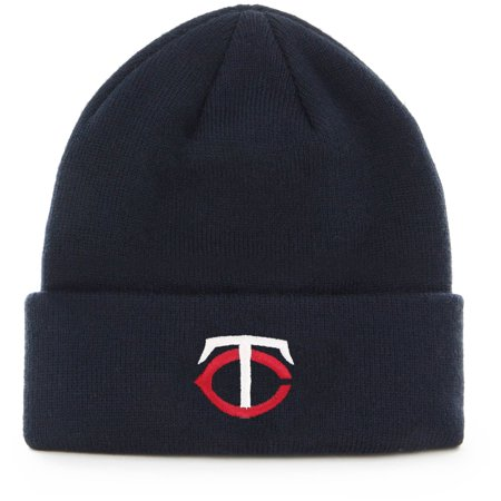 Men's Navy Minnesota Twins Cuffed Knit Hat - OSFA (Minnesota Twins Baseball Hat)