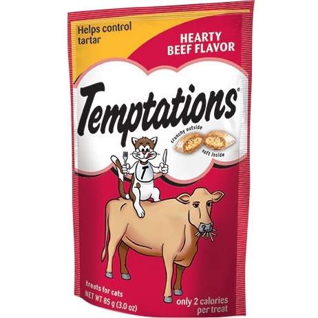 Temptations Classic Treats For Cats Hearty Beef
