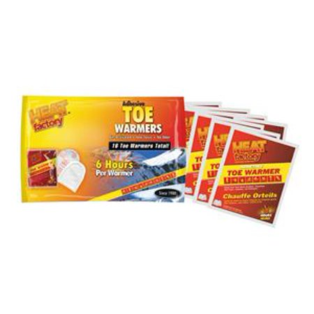 Heat Factory Toe Warmer Bonus Pack