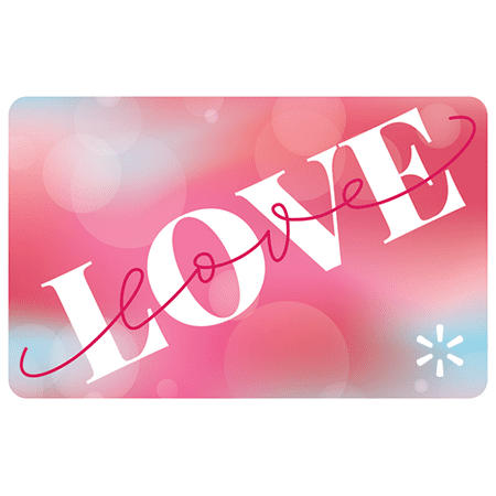 Vday Love Love Walmart eGift Card