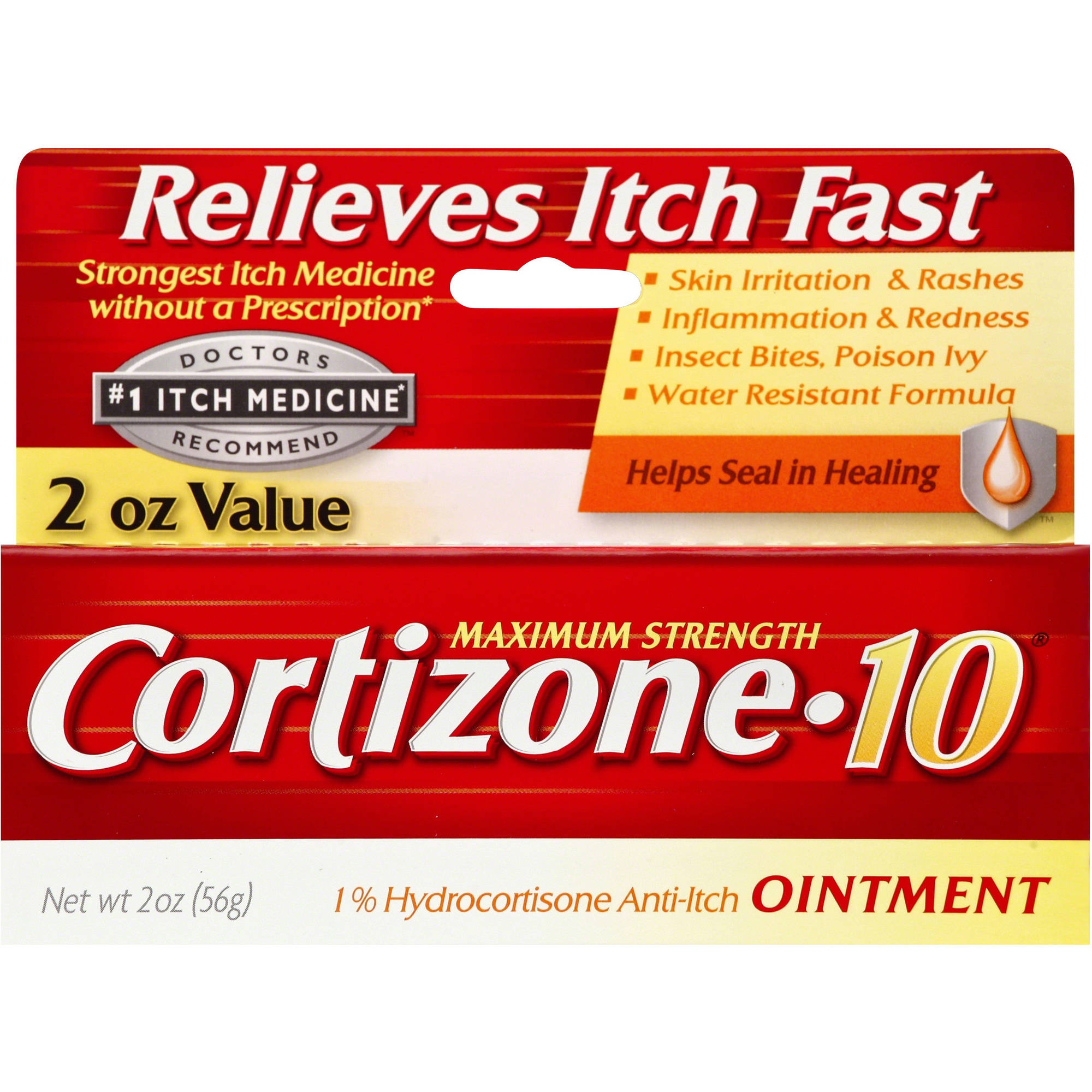 Cortizone 10 Anti-Itch Ointment, 2 oz