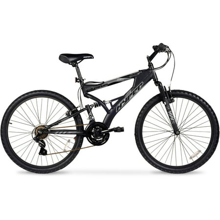 26 Hyper Havoc Full Suspension Mens Mountain Bike Black Walmartcom